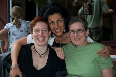 Amelia, Mitra and Julia