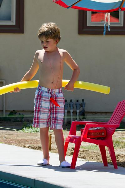 156 Sam the lifeguard