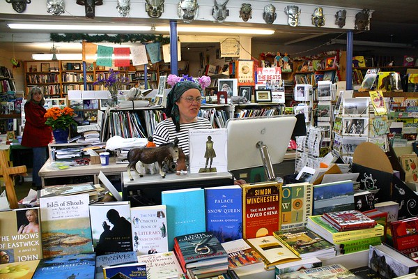 10.06.01 Gulf of Maine Bookstore in Brunswick