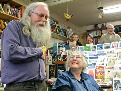 15.02.07 Carolyn Chute at the Gulf of Maine Bookstore in Brunswick