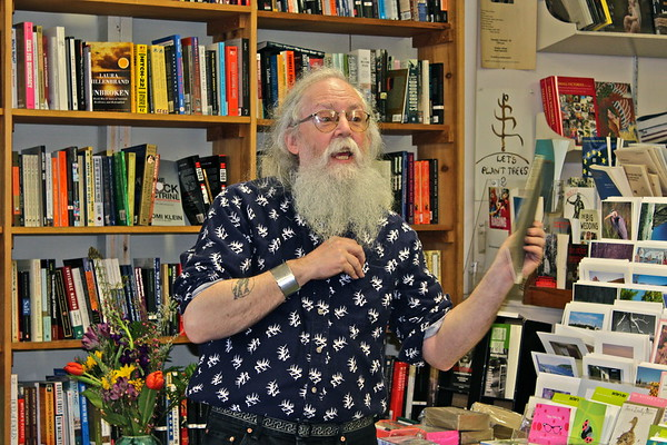 15.05.02 Publishing Party for Gary Lawless at Gulf of Maine Bookstore in Brunswick