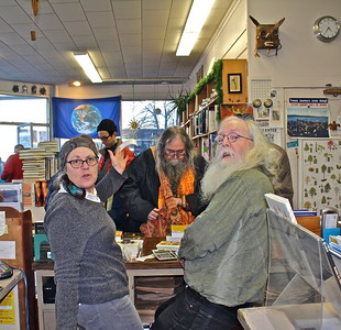 16.02.27 37th Birthday of Gulf of Maine Bookstore in Brunswick
