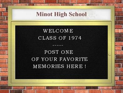1974 Minot High School Yearbook