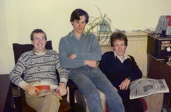 1985 - Andy, Mark & Howard