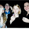 Jello Shots at the Blue Cat.<br /> Lisa, Olivia, April and me<br /> I just love Olivia's face in this