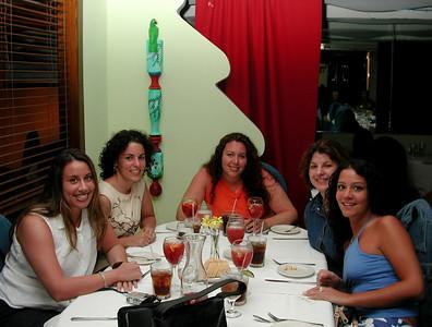 Random girls out at dinner