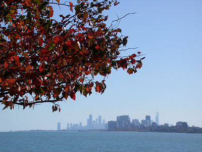 Chicago from Evanston