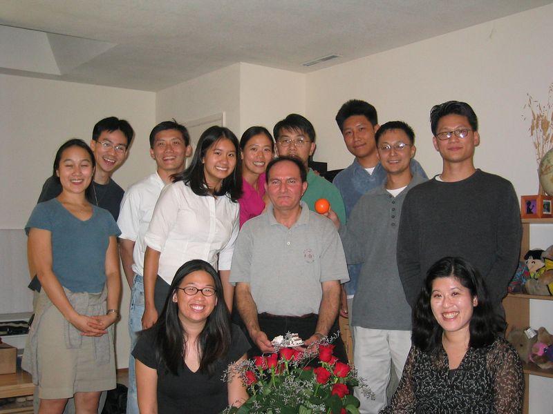2003 08 07, Thursday - Moe's Birthday Group pic 1