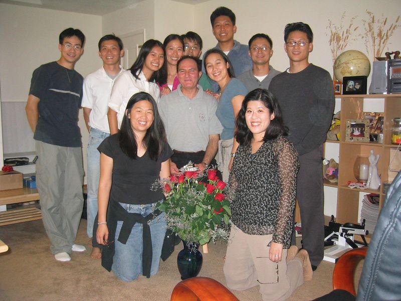 2003 08 07, Thursday - Moe's Birthday Group pic 2