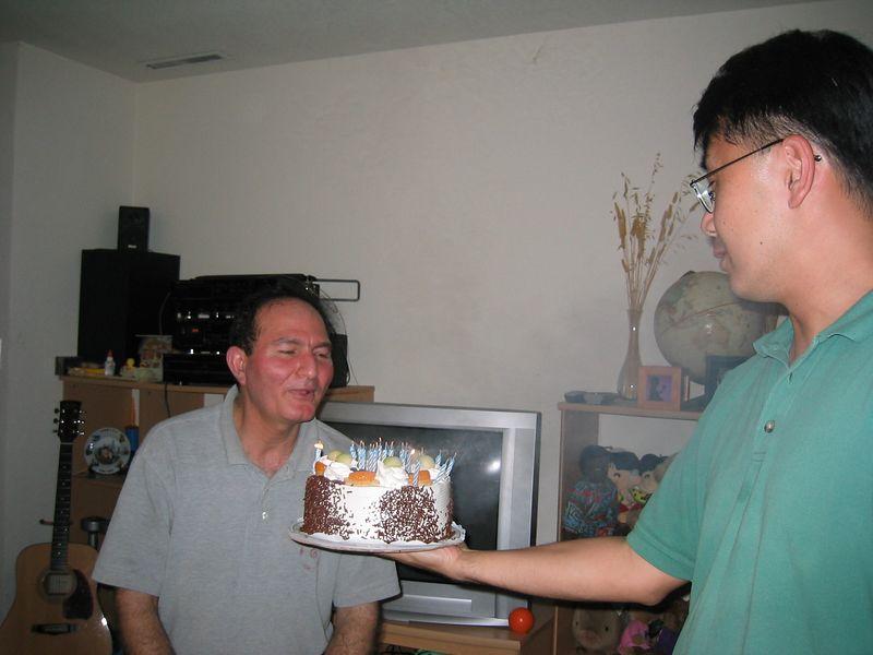 2003 08 07, Thursday - Moe's 20th Birthday