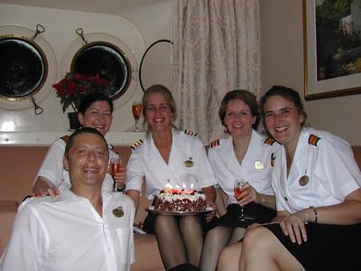 Madrid, Judith, me, Stella, Nicola