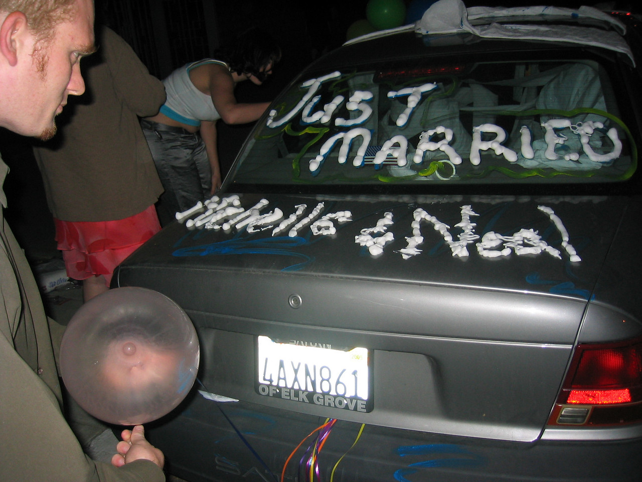 17 - Decorating the love mobile - back