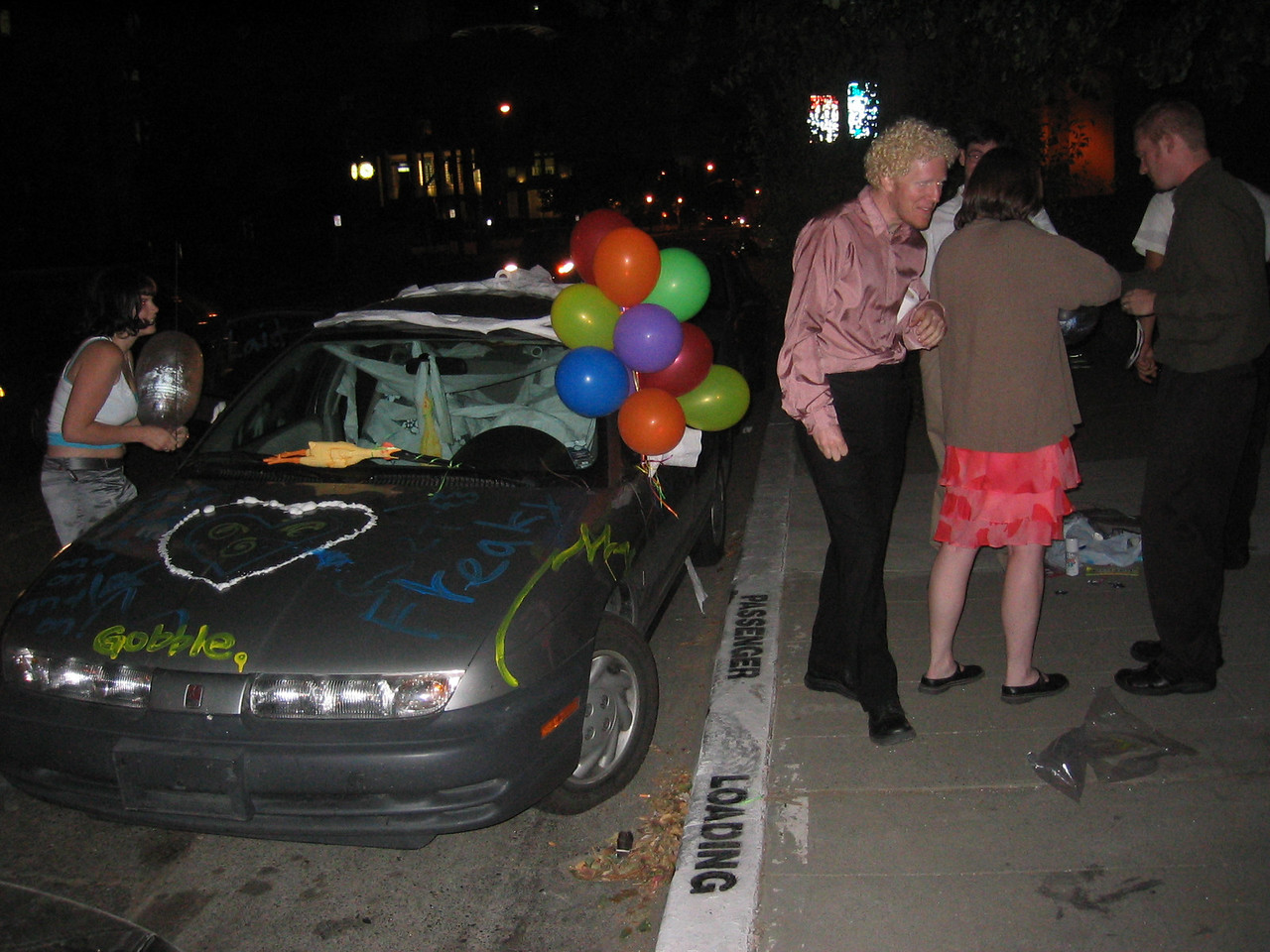 16 - Decorating the love mobile - front