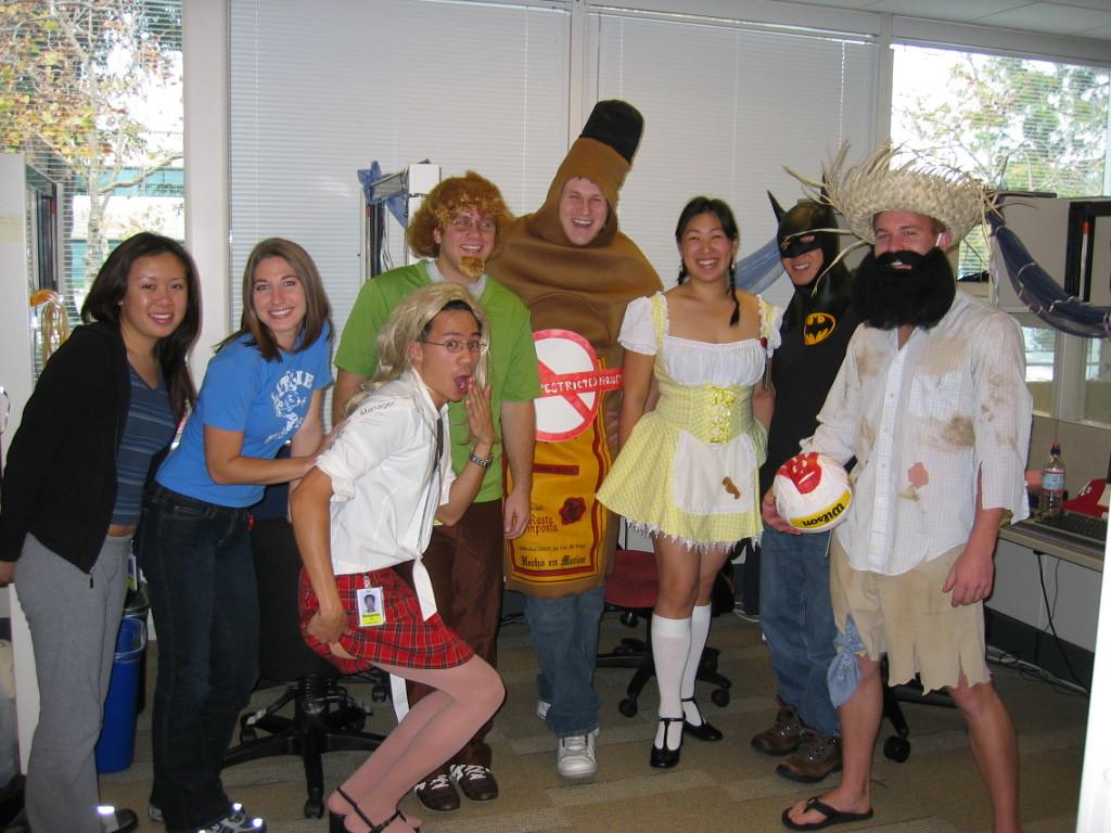 2004 10 29 Friday - Melody, Carla, Ben, Ryan, Derek, Kathryn, Julius, & Matt @ Google