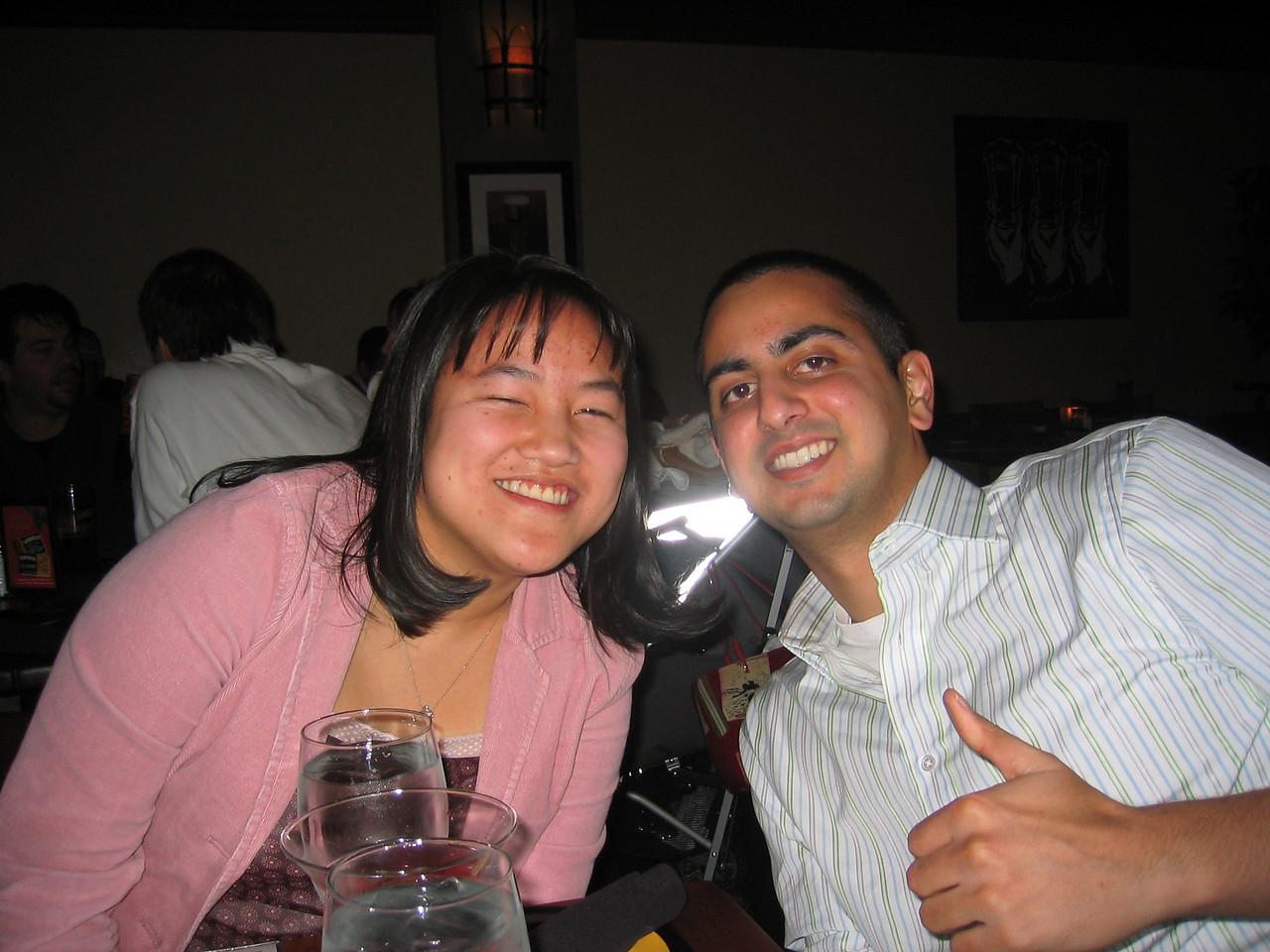 2005 01 14 Friday - Vickie Nguyen & Kamal