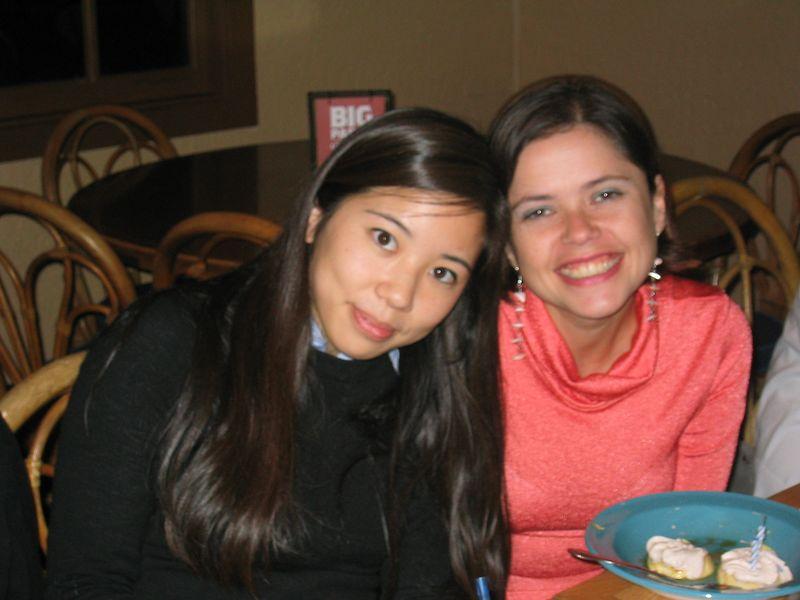 2005 04 27 Wednesday - Katherine Huang & Jonika Hoomes