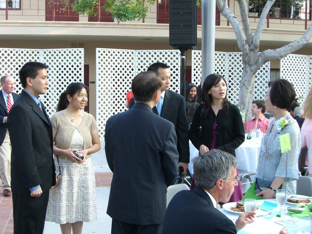 2006 05 06 Sat - Joe & Angela Chen, Nelson & Katherine Hsu, and Isabel's parents 2