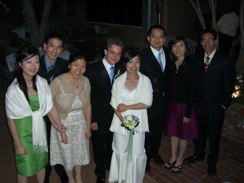 2006 05 06 Sat - Group pic - Ellen Chi, Joe & Angela Chen, Tim & Isabel Hunter, Nelson & Katherine Hsu, and Ben Yu 1