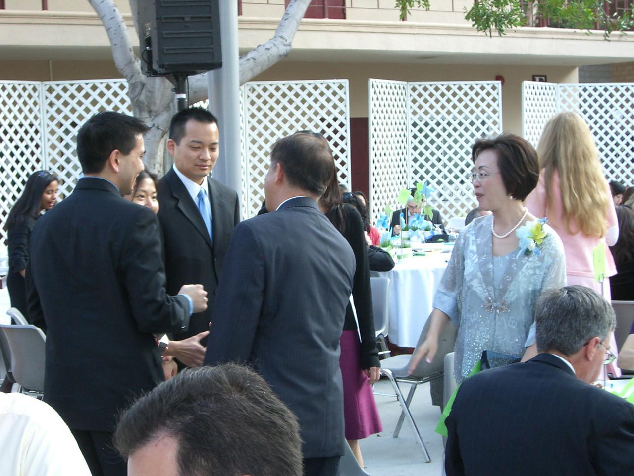 2006 05 06 Sat - Joe & Angela Chen, Nelson & Katherine Hsu, and Isabel's parents 1