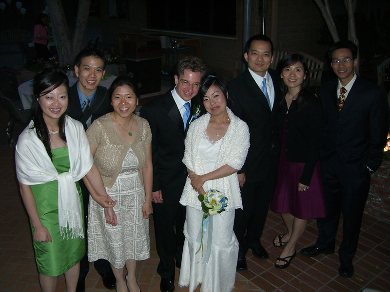 2006 05 06 Sat - Group pic - Ellen Chi, Joe & Angela Chen, Tim & Isabel Hunter, Nelson & Katherine Hsu, and Ben Yu 2