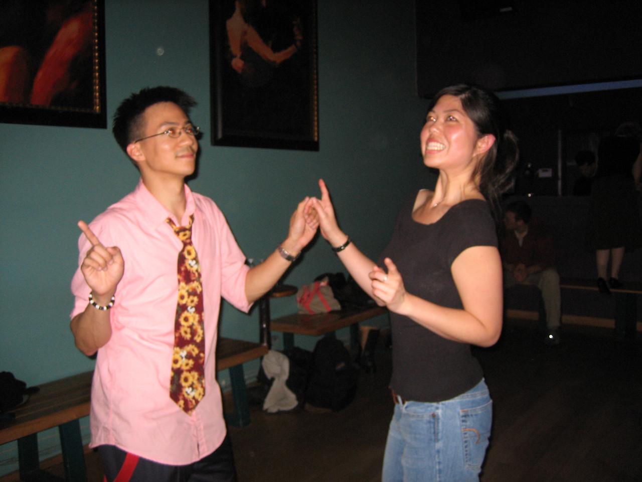2006 05 12 Fri - Ben Yu & Evelyn Yao boogie