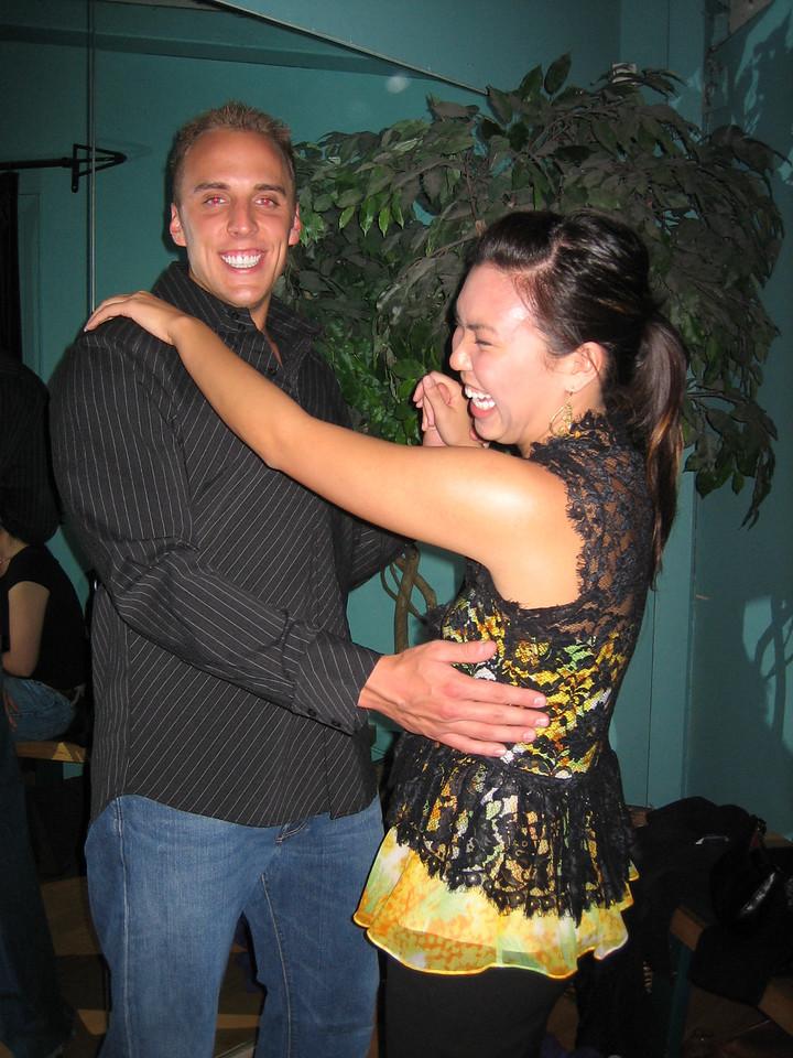 2006 05 12 Fri - Jennifer Louie & her man