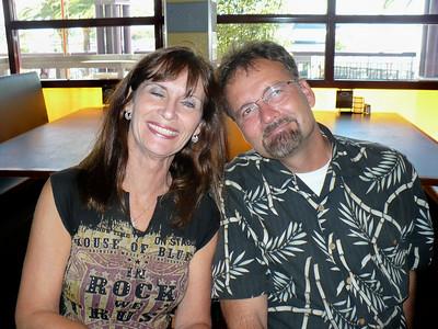 Ginny with Mark Petit