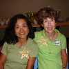 SISTERS-IN-LAW COCO AND PAT<br /> PAT LIKES NAME TAGS!