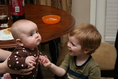 Addie and Garrett.