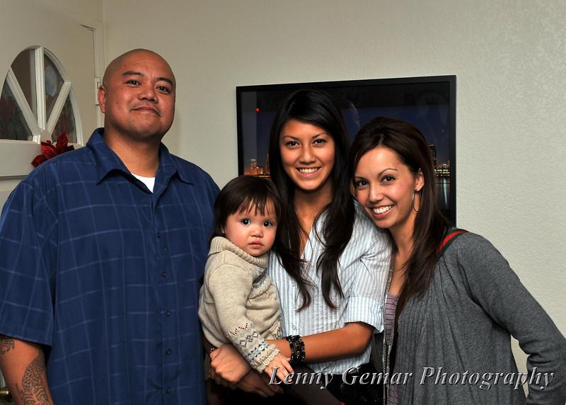 Ricky, Sophia, Vanessa, and Darlene