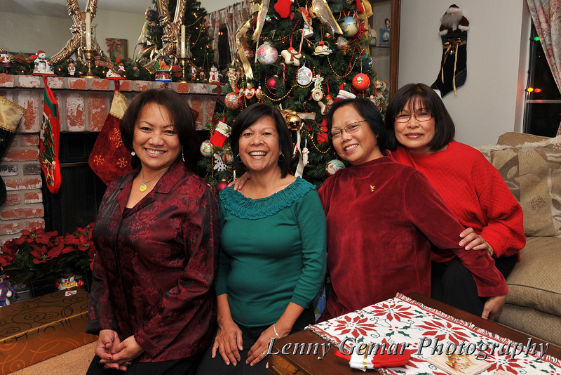 Claire, Nenette, Glo, and Aloma