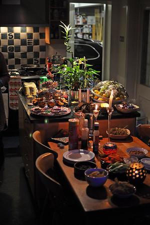 Bonfire night at Mary & Ian's 07/11/09