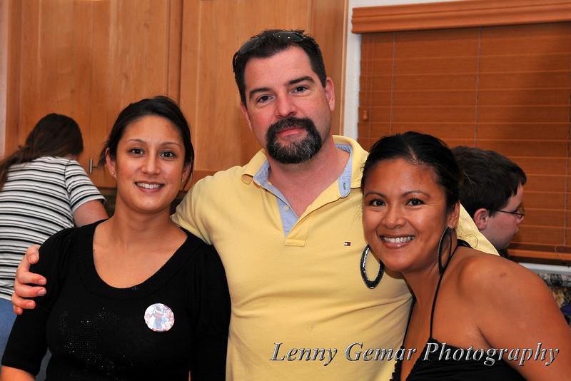 Kathryn Khury, Jeff Fay, and Tina Tidwell
