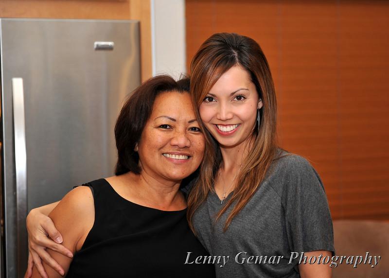 Claire Gemar and Darlene Vergara