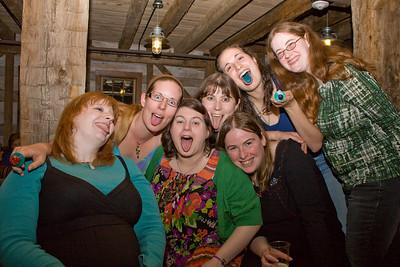Group picture: Sarahbeth, Liz, Shannon, Laura, Beth, Liz, and Deb