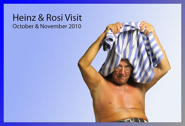 2010-11 Heinz & Rosi Visit