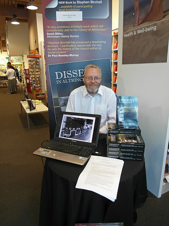 Stephen Birchall's book signing