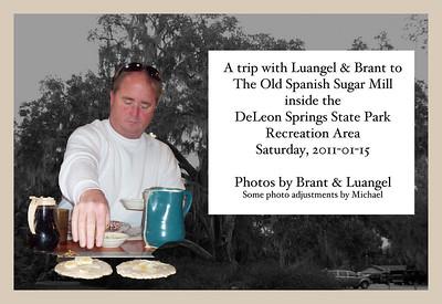 2011-01-15 Pancakes at DeLeon Springs State Park