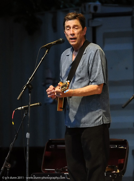 """John Sommers (author of """"Thank God I'm a Country Boy"""") performing with Jim Curry, Concerts in the Garden, Fort Worth, TX   (06-12-2011)"""