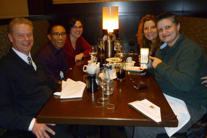 2012-Jan: PICA Christmas dinner