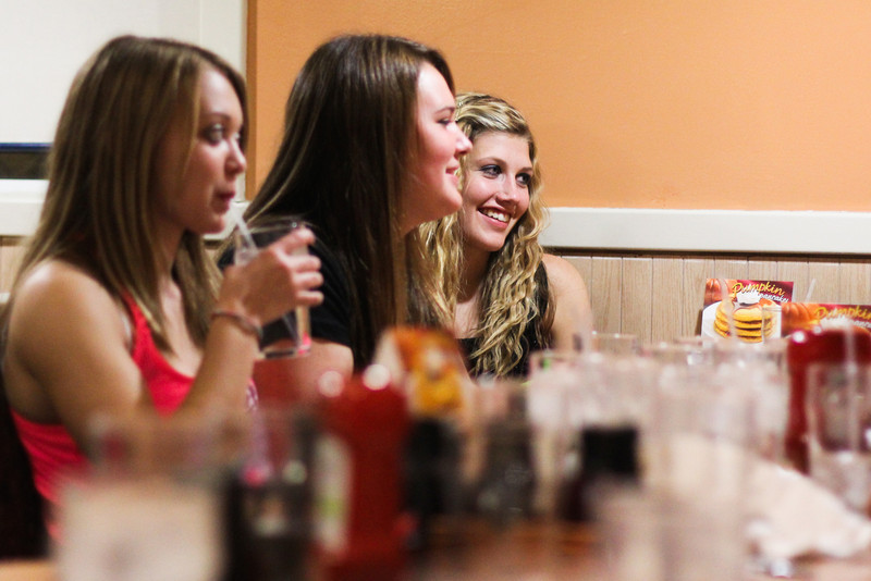IHOP after the Circle Homecoming Dance.