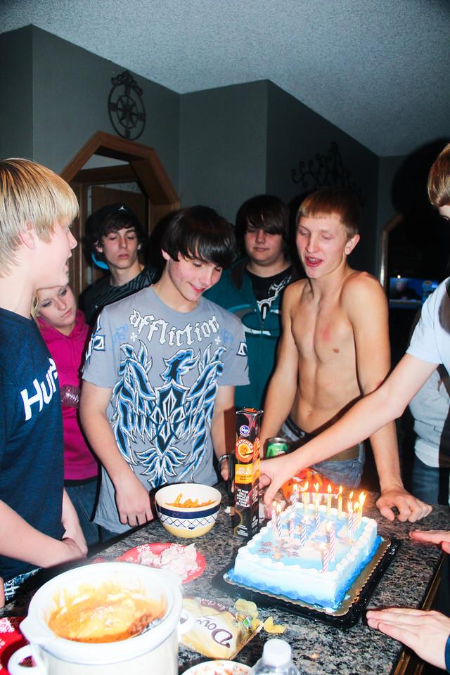 Alex Shingleton's 15th Birthday Party