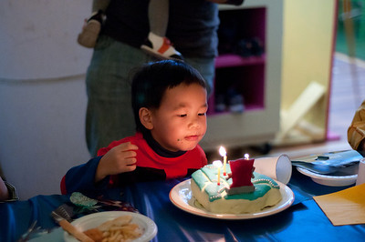 Lachlan's 3rd Birthday