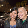 January 4, 2012 - Outside Dave & Busters with my friend Emily