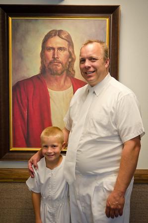 2012-09 - Jayden's Baptism