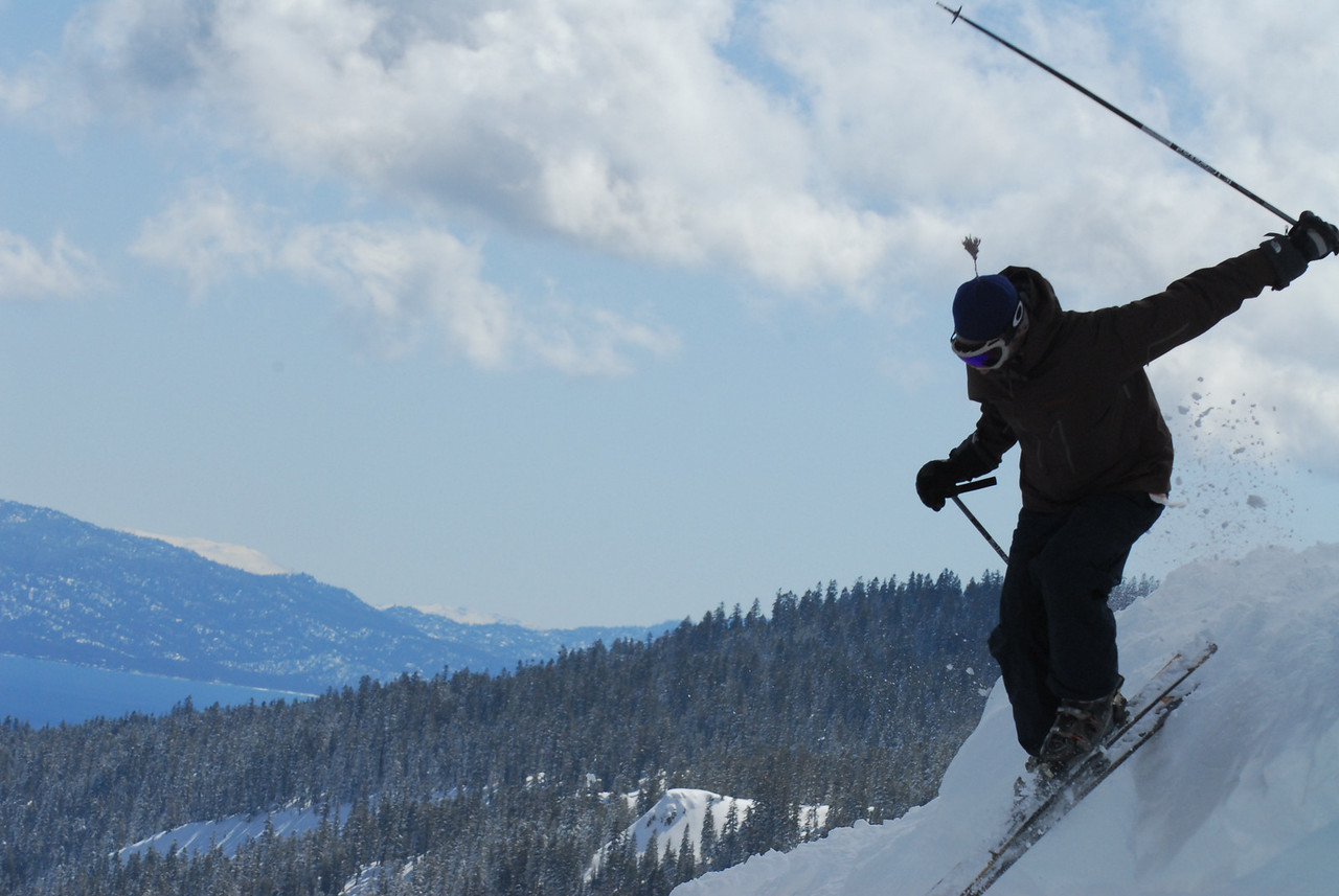Starts looking so good at the Alpine Meadows!