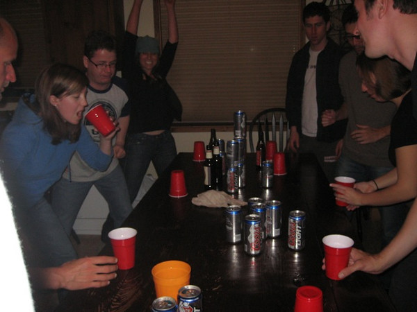 Fircus the queen of all flip cup!