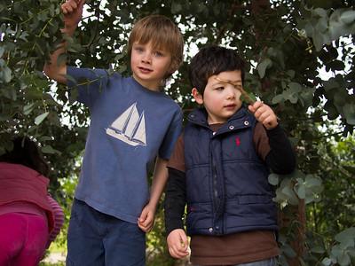 Princes park with Noah and Karen