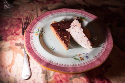 Course #4b: peanut butter pie!