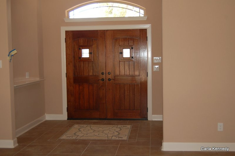 Front doors - gorgeous